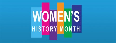 March Womens History Month Facebook Covers